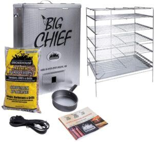 Big Chief Electric Smoker With Top Load