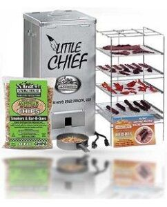 Little Chief electric smoker with front load
