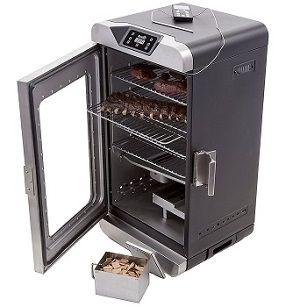 char broil deluxe electric smoker