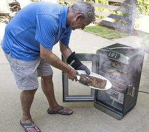 char broil electric smoker