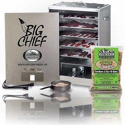 smoke house Big Chief electric smoker with front load review