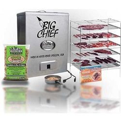 smoke house Big Chief electric smoker with top load review