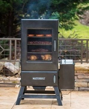 Char-Broil Electric Smoker and integrated meat probe