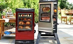 Stand Up Smoker Designs : Top vertical electric smoker review upright tall stand up