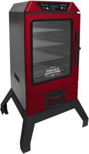 """Smoke Hollow D4015RS 40"""" Digital Electric Smoker - RED WITH LEGS"""