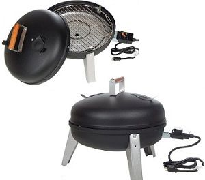 2 IN 1 MECO ELECTRIC SMOKER AND GRILL