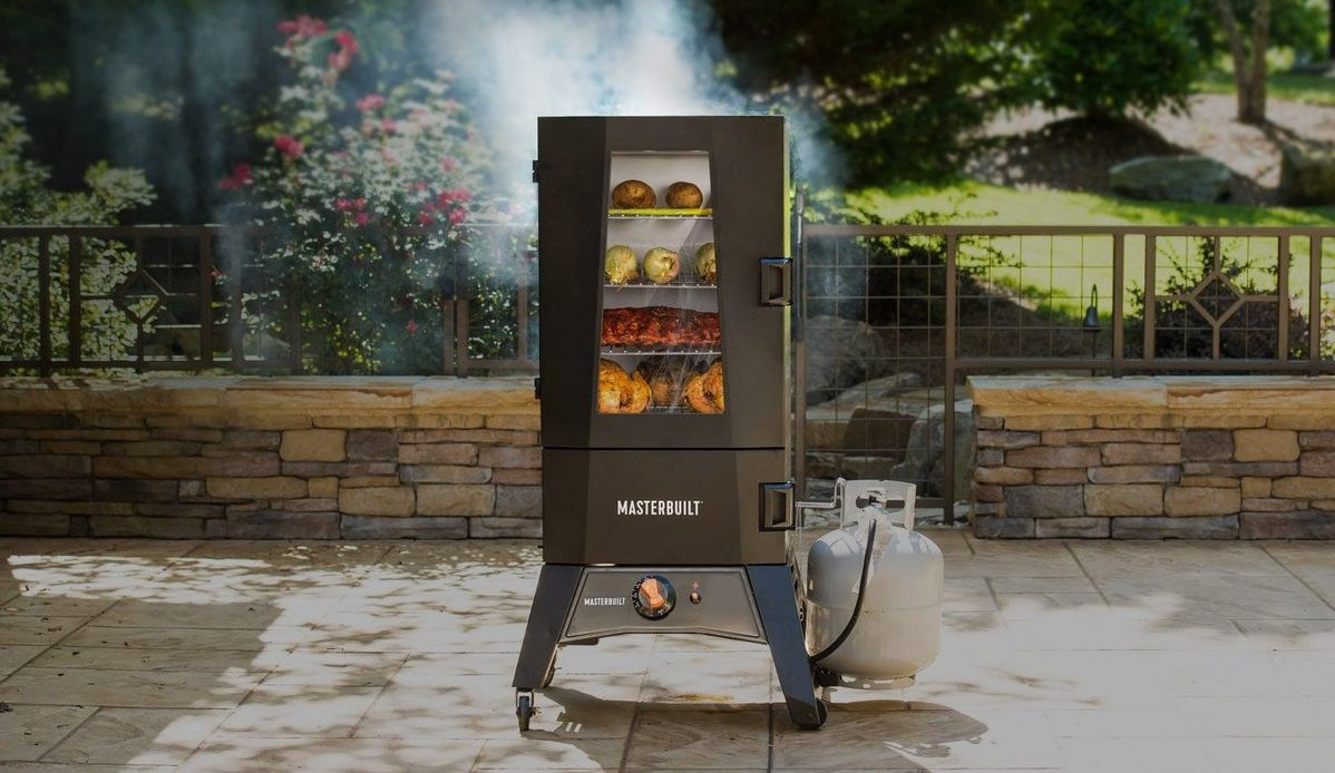 Master Forge Digital Vertical Electric Smoker