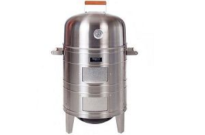 Best water smoker – Meco stainless steel smoker