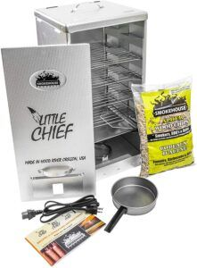 Little Chief Stainless Steel Electric Smoker