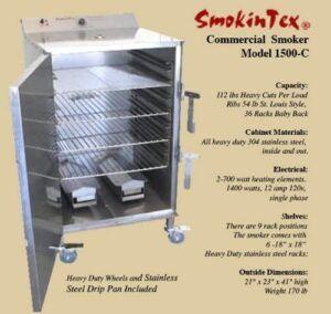 SmokinTex 1500-C Electric Smoker