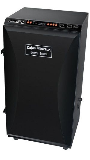 Cajun Injector Black Electric Smoker