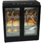 cajun injector xl electric smoker with glass doors