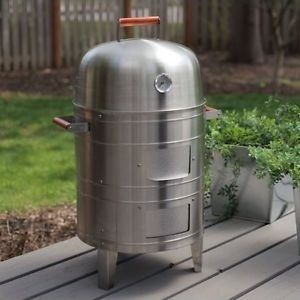 electric water smoker by meco