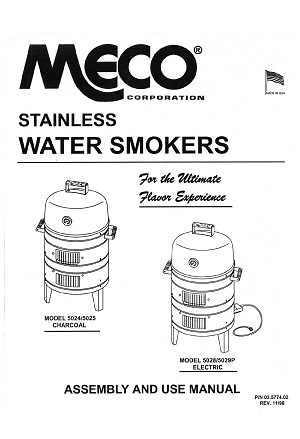meco electric smoker replacement parts