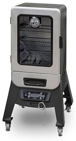 pit boss electric smoker silver