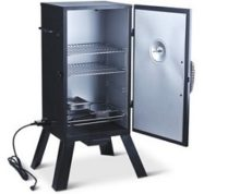 Master Forge Digital Vertical Electric Smoker Amp Parts Review