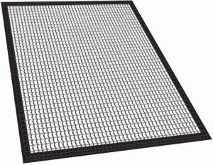 Mat for fish and vegetables