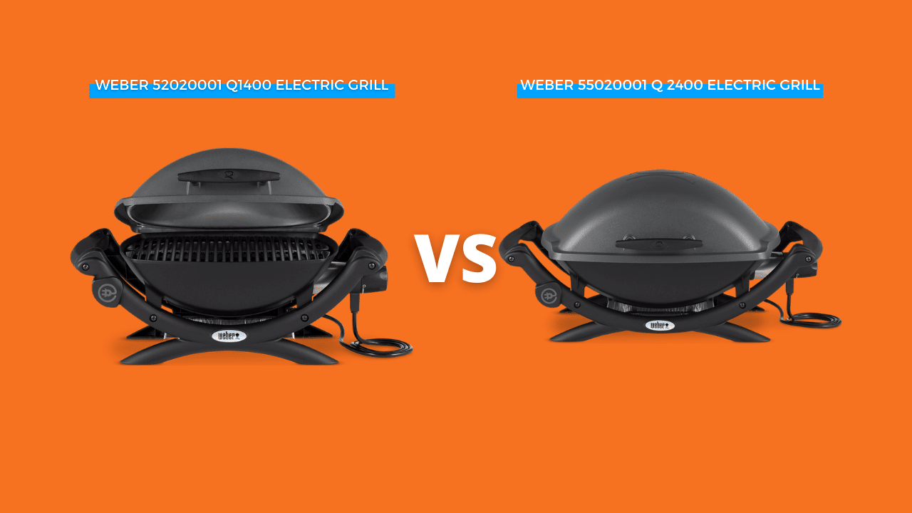 Weber Electric Grill 1400 vs. 2400