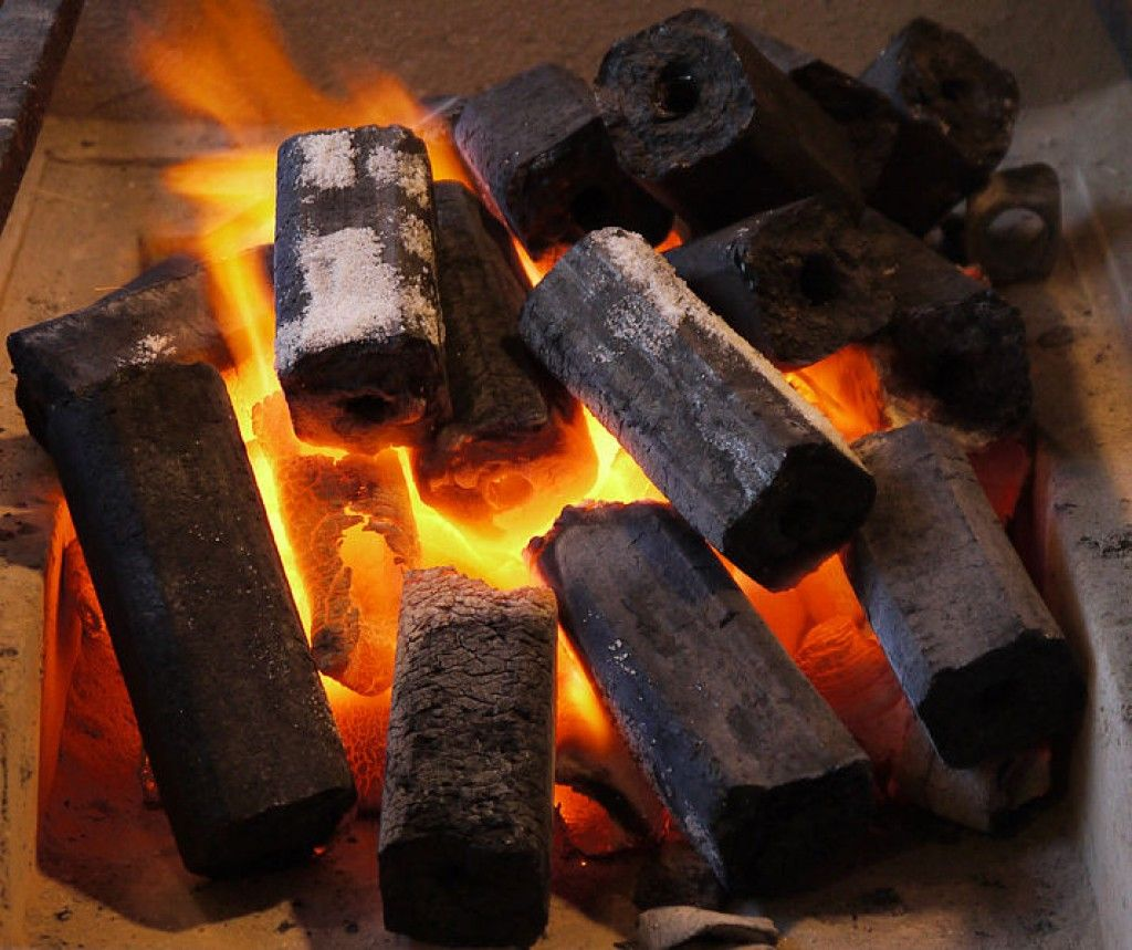 Briquettes and Ashes