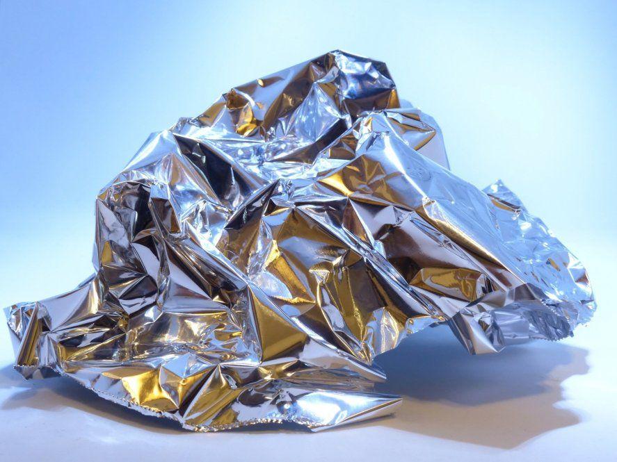 Dispose of the luAminum Foil