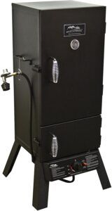Masterbuilt 30-Inch Outdoor Vertical Propane Gas BBQ Meat Smoker Grill