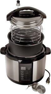 Emson indoor smoker pressure cooker
