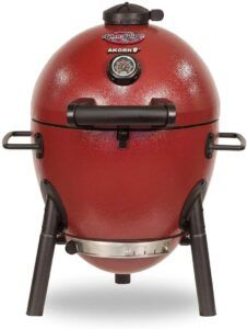AKORN Jr, Red Charcoal Kamado Grill by Char-Griller