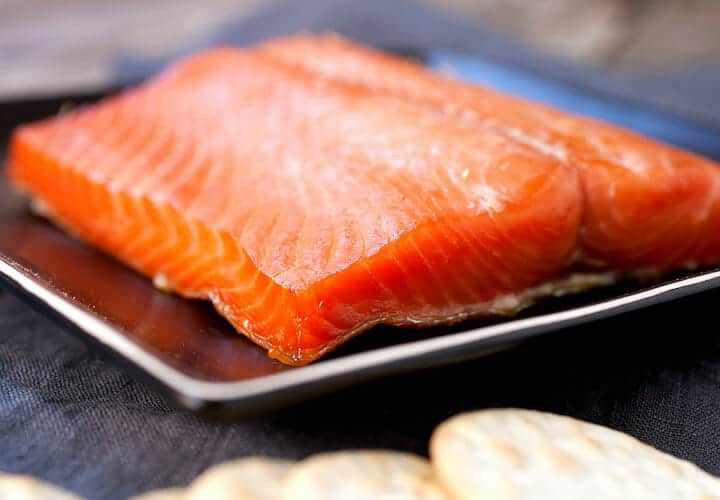 Smoked Salmon fish