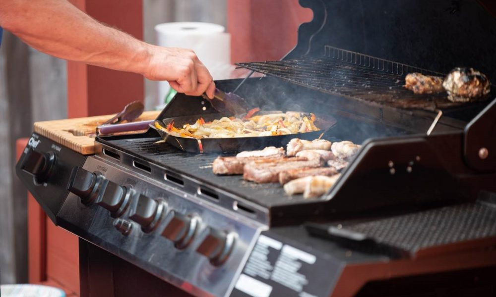 Cooking on an Infrared Grill