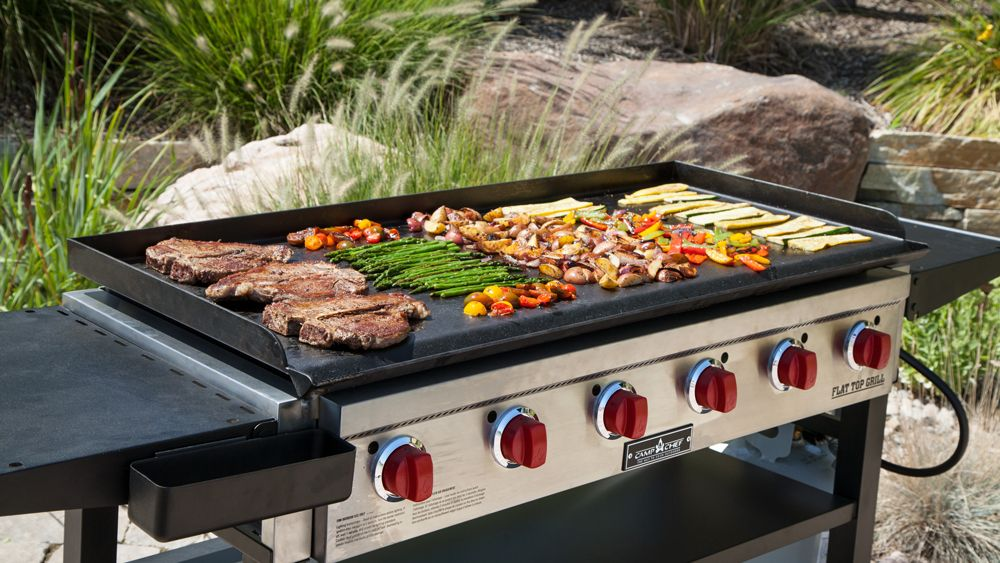 Flat Top Griddle vs A Standard Gas Grill1
