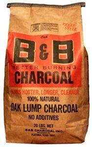 B&B Oak Lump Charcoal