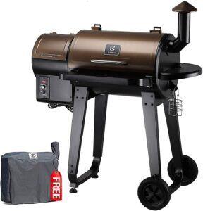 Model Wood Pellet Grill & Smoker