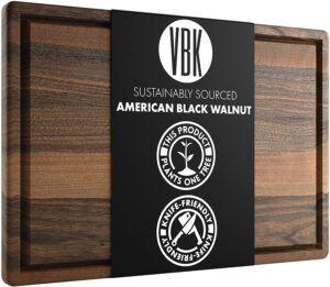 Extra Large Walnut Wood Cutting Board