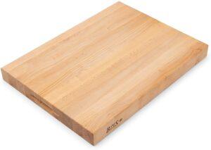 John Boos Block RA03 Maple Wood Edge Grain Reversible Cutting Board