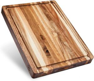 Large Reversible Multipurpose Maple Wood Cutting Board