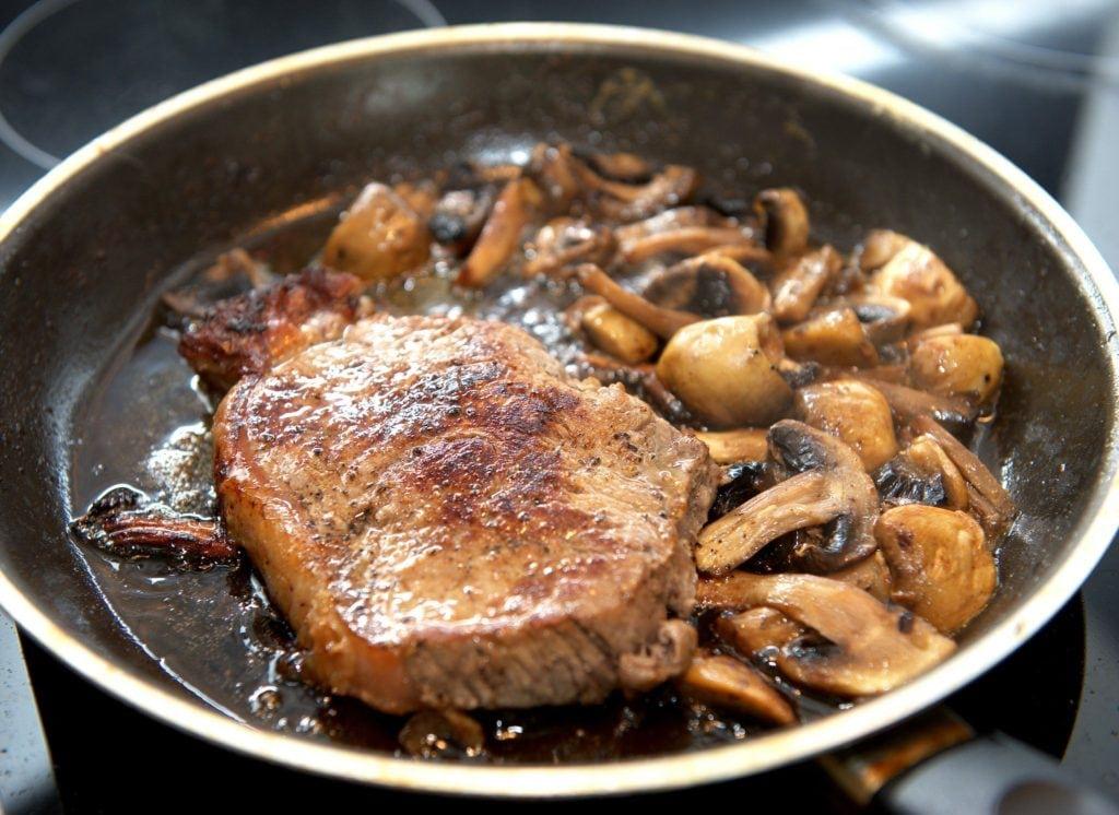 Reheat Steak on the Stovetop